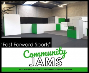 Community Jam bij Fast Forward Sports